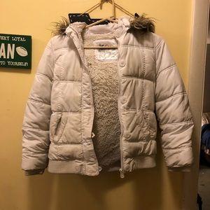 Justice White Winter Coat